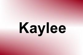 Kaylee name image