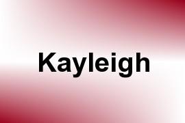 Kayleigh name image