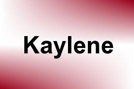 Kaylene name image