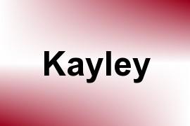 Kayley name image
