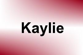 Kaylie name image