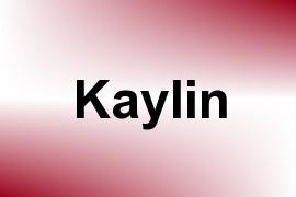 Kaylin name image