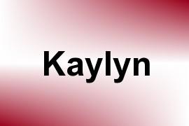 Kaylyn name image