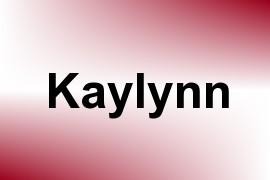 Kaylynn name image