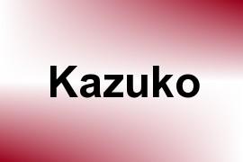 Kazuko name image