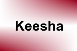 Keesha name image