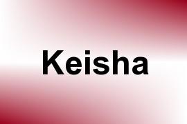 Keisha name image