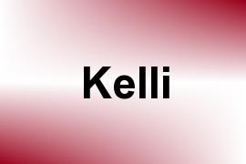 Kelli name image