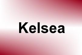 Kelsea name image