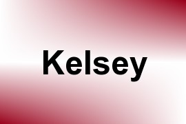 Kelsey name image