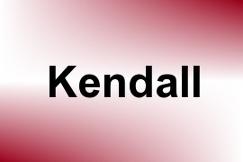 Kendall name image