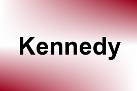 Kennedy name image
