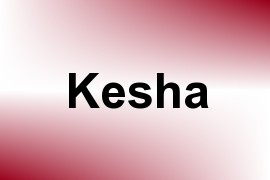 Kesha name image