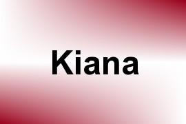 Kiana name image