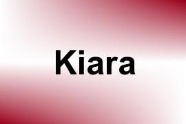 Kiara name image