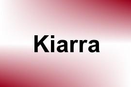 Kiarra name image