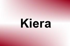 Kiera name image