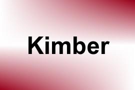 Kimber name image