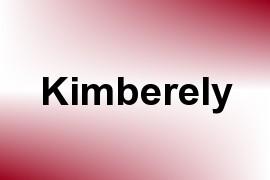 Kimberely name image