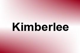 Kimberlee name image