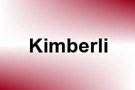 Kimberli name image