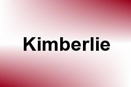 Kimberlie name image
