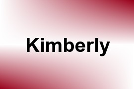 Kimberly name image