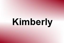 Kimberly name image