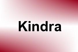 Kindra name image