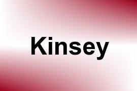 Kinsey name image