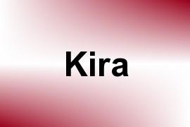 Kira name image