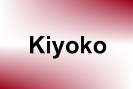 Kiyoko name image
