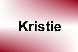 Kristie name image