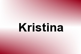 Kristina name image