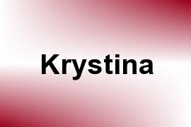 Krystina name image