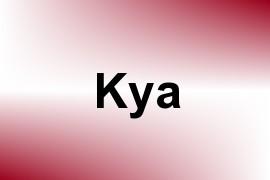 Kya name image