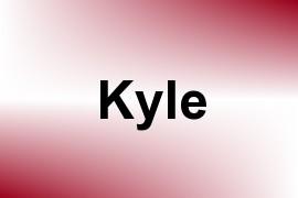 Kyle name image