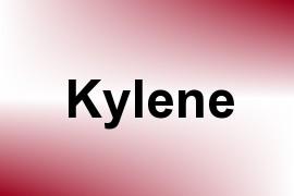 Kylene name image