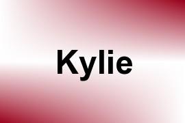 Kylie name image