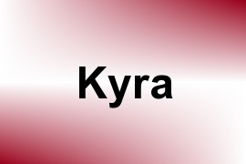 Kyra name image