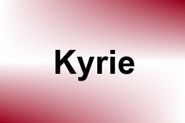 Kyrie name image