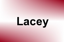 Lacey name image