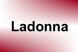 Ladonna name image