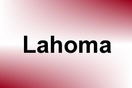 Lahoma name image