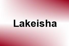 Lakeisha name image