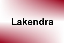 Lakendra name image