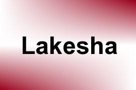 Lakesha name image