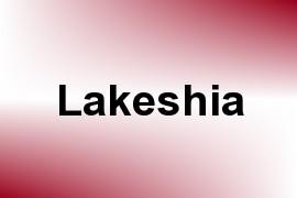 Lakeshia name image