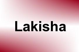 Lakisha name image
