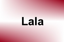 Lala name image